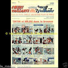 Tintin et Milou dans la brousse (Congo) Coeurs / Ames Vaillants n°15 23/11/1941