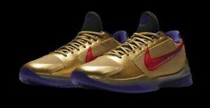 Undefeated × Nike Kobe 5 Protoro HALL OF FAME DA6809-700 Men Authentic US 6 - 13