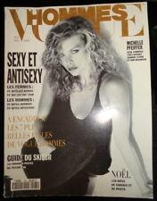 Vtg Vogue Hommes Paris 1993 1994 Keanu Reeves Helena Christensen Naomi Campbell