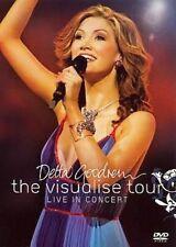 Delta Goodrem The Visualise Tour Live in Concert DVD PAL R0