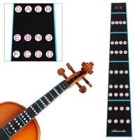 4/4 Violin Fiddle Fingerboard Stickers Fret Marker Labels Fingering Chart