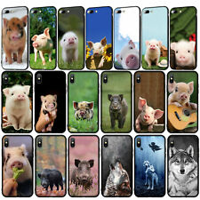Wolf Wild boar Pig Phone Case for iPhone 11 Pro XR X XS Max 8 7 6 6s Plus 5S SE