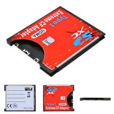 Speicherkarte Kartenleser SDXC SD auf Compact Flash CF Karte Adapter Konverter