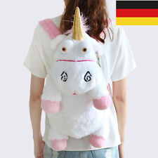 Unicorn Bag Toy Plüsch Einhorn Backpacks Stofftier Kinder Rucksack Paket Puppe