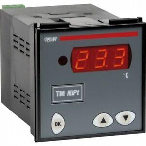 Termometro digitale da pannello TM NiPt-P7A VEMER  VM619400