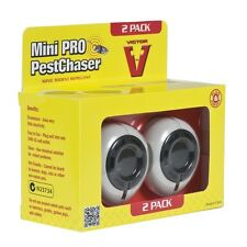 Victor Ultrasonic Pest Repeller's Twinpack - Rodents Mouse Mice Rats