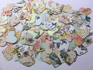 100 Flowers And Butterfly Hearts For Card Making And Scrapbooking
