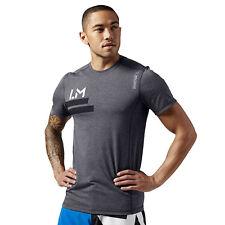 Men's sports Tee Reebok Les Mills Cycle SpeedWick Training T-Shirt