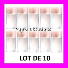 Lot de 10 bottles water de toilette SOFT MUSK new - scent butternut sensual