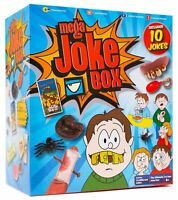 Mega Joke Box 10 Jokes Toy Classic Practical Funny Prank Game Trick Set