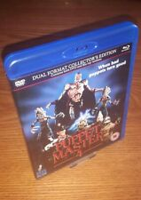 PUPPET MASTER 4 2-disc Collector's Edition Blu-ray UK 88 Films region b free P&P