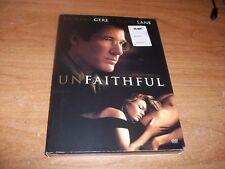Unfaithful (DVD 2002 FF Special Edition) Diane Lane Richard Gere Drama Movie NEW