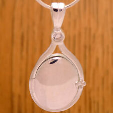 925 Sterling Silver H2O Just Add Water Mako Mermaids White CZ Pendant Locket
