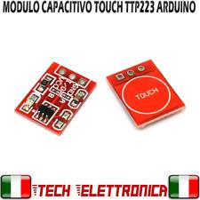 TTP223 modulo sensore touch tasto pulsante interruttore capacitivo Arduino PIC