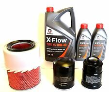Mitsubishi L200 2.5TD 2.5D Oil Air Fuel Filter 7Lt 10W40 Oil Service kit 1994>