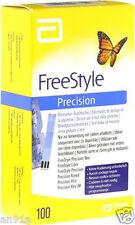 100 Stück Sensoren - Teststreifen FreeStyle Precision * vom FACHHAENDLER * NEU *