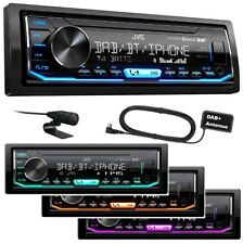 JVC KD-X451DBT Autoradio DAB+ USB MP3 Bluetooth AUX Android Steuerung Antenne