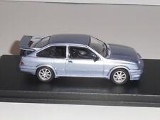 WHITEBOX.WBX0004, `FORD SIERRA COSWORTH RS500  ` IN  LIGHT METALLIC BLUE.