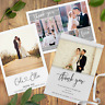 Personalised Wedding Thank You cards inc Envelopes + Photo