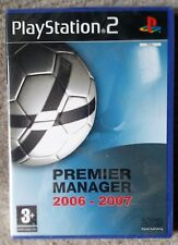 PREMIER MANAGER 2006-2007 PS2 FOOTBALL GAME new & SONY sealed UK PLAYSTATION 2