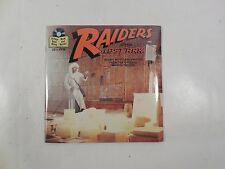 """SEALED INDIANA JONES RAIDERS OF THE LOST ARK 7"""" READ-ALONG BOOK & RECORD OST"""
