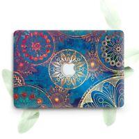Gold Boho Henna Mandala Plastic Case Cover Macbook Pro Retina Air 11 12 13 15