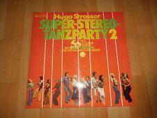 Hugo Strasser - Super-Stereo-Tanzparty 2 - Doppel LP -für Liebhaber und Sammler