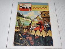 TINTIN 28/07 1955 N°353 HERGE AFFAIRE TOURNESOL DAN COOPER WEINBERG PANIS