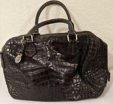 Vintage Dooney and Bourke Purse Crossbody Shoulder Bag Croc Embossed Pebbled