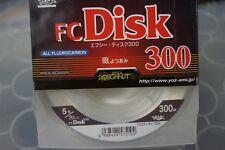 YGK FC Disk 300 FLUOROCARBON 100% LINE 300m 20lb #5