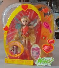 VHTF Mattel Winx Club Pixie Magic Stella doll + Pixie Friend Amore! BNIB! RARE!!