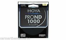 Hoya 77mm Pro Nd 1000 10 parada Filtro Para Cámara Réflex Digital, Nikon, Canon Etc