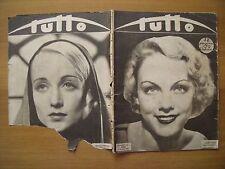 TUTTO - Settimanale illustrato - 3 gennaio 1932