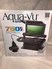 """Aqua-Vu 760czi Camera IR Lighting 7"""" Color 3X Zoom 100' Cable XD Cam AV760cz-i"""