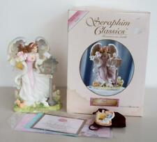 Seraphim Classics Roman Angel Kayli Heavens Greetings Nib 78368 With Pin & Coa