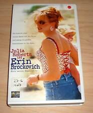 VHS - Erin Brockovich - Julia Roberts - Videokassette