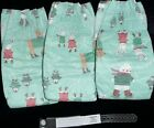 Ice Ice Baby Print Diapers for Reborn, baby doll, shower decor ,box opening