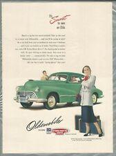 1947 OLDSMOBILE advertisement, Olds 98 sedan, smart looking