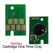 For Noritsu D701 D703 D1005 Green II Printer Ink Cartridge Chip One Time Chips