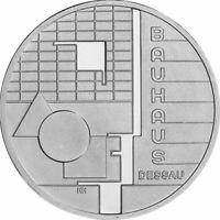 Deutschland 10 Euro Gedenkmünze Sondermünzen 2004 PP Bauhaus Dessau lose Silber*