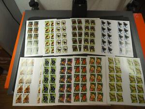 "Niuafo'ou-Inseln 2012, gezähnte Serie ""Schmetterlinge"" per 100 (ME 5000,-)"