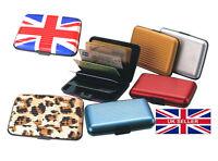 New Unisex Multi Credit Card Holder Aluminium Travel Wallet Pack Case Organiser