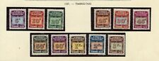 STAMP / TIMBRE COLONIES FRANCAISES AFRIQUE EQUATORIALE TAXE N° 1/11 *