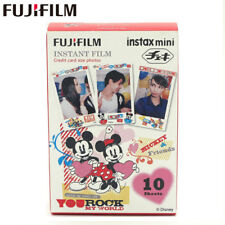 Fujifilm Instax Mini Film 10 Mickey mouse Fuji instant 9 90 8 7s 25 55i SP-1 2