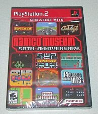 Namco Museum 50th Anniversary for Playstation 2 Brand New! Factory Sealed!