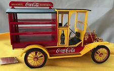 FRANKLIN MINT FORD MODEL T COCA-COLA DELIVERY TRUCK YELLOW TAGGED RARE