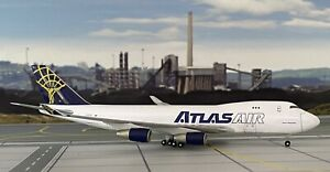 """Boeing 747-400F """"Spirit of Panalpina"""" Atlas Air 1:400 mit OVP Herpa Wings"""
