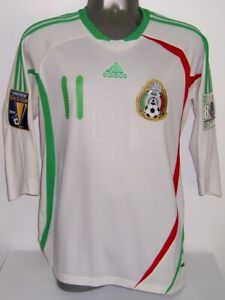 ADIDAS MEXICO GOLD CUP 2009 COPA ORO VELA L AWAY ORIGINAL SOCCER JERSEY SHIRT
