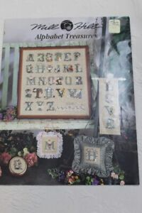 Mill Hill - Alphabet Treasures - Counted Cross Stitch Pattern - 1997