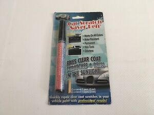 CAR SCRATCH SAVER PEN-NEW- Sealed*Works On All Colors* Non-Toxic Free Ship